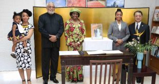 RAWLINGS, NANA KONADU CONGRATULATE NEW JAPAN EMPEROR